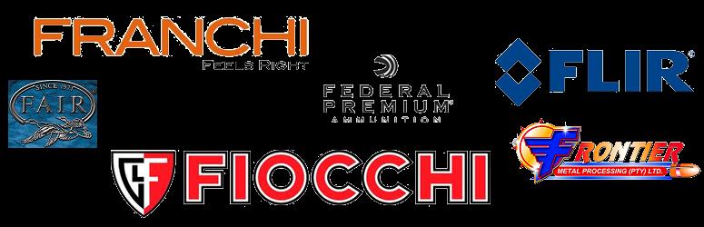 Fair, Federal, Fiocchi, FLIR, Franchi, Frontier