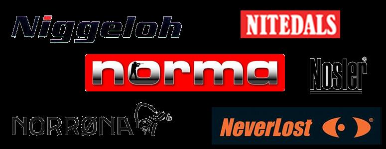 Neverlost, Niggeloh, Nitedal, Norma, Norrøna, Nosler