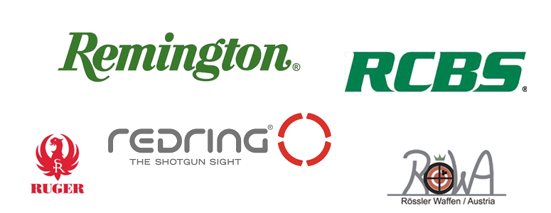 RCBS, Redring, Remington, Ruger,  Rössler Titan